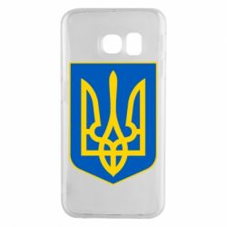 Чехол для Samsung S6 EDGE Герб неньки-України - FatLine