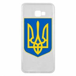 Чехол для Samsung J4 Plus 2018 Герб неньки-України - FatLine