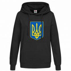 Женская толстовка Герб неньки-України - FatLine