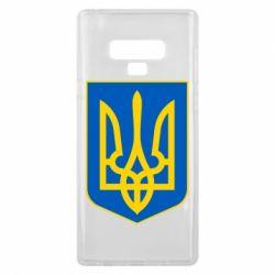 Чехол для Samsung Note 9 Герб неньки-України - FatLine