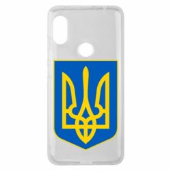 Чехол для Xiaomi Redmi Note 6 Pro Герб неньки-України - FatLine