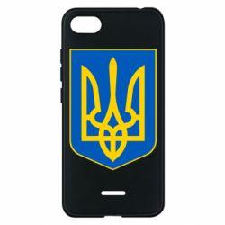 Чехол для Xiaomi Redmi 6A Герб неньки-України - FatLine