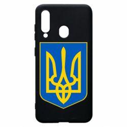 Чехол для Samsung A60 Герб неньки-України