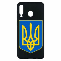 Чехол для Samsung M30 Герб неньки-України