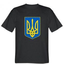 Мужская футболка Герб неньки-України - FatLine