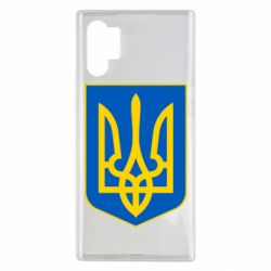 Чохол для Samsung Note 10 Plus Герб неньки-України