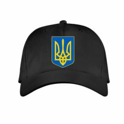 Детская кепка Герб неньки-України - FatLine