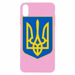 Чехол для iPhone X Герб неньки-України - FatLine