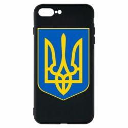 Чехол для iPhone 8 Plus Герб неньки-України