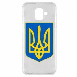 Чехол для Samsung A6 2018 Герб неньки-України