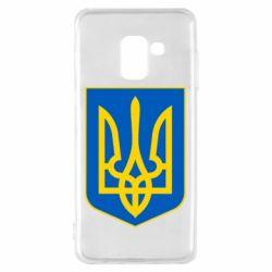 Чехол для Samsung A8 2018 Герб неньки-України