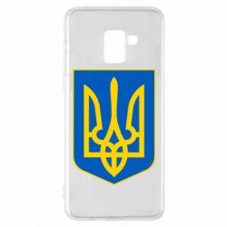 Чехол для Samsung A8+ 2018 Герб неньки-України