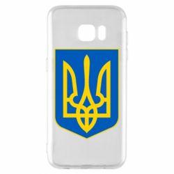 Чехол для Samsung S7 EDGE Герб неньки-України - FatLine