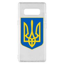 Чехол для Samsung Note 8 Герб неньки-України - FatLine