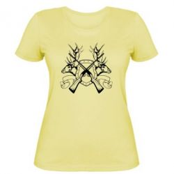 Женская футболка Герб Охотника - FatLine