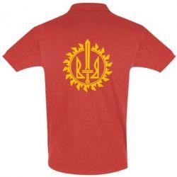 Мужская футболка поло Герб у сонці