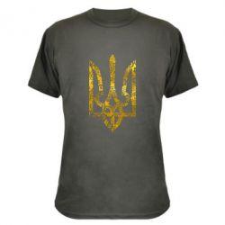 Камуфляжная футболка Герб с узорами Голограмма