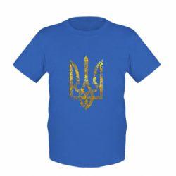 Детская футболка Герб с узорами Голограмма