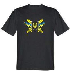 Мужская футболка Герб та мечи - FatLine
