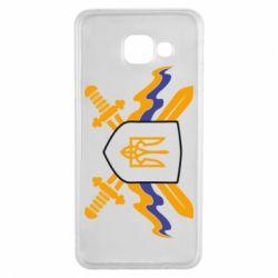 Чехол для Samsung A3 2016 Герб та мечи