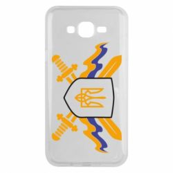 Чехол для Samsung J7 2015 Герб та мечи