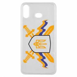 Чехол для Samsung A6s Герб та мечи