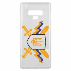 Чехол для Samsung Note 9 Герб та мечи