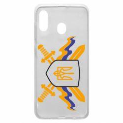 Чехол для Samsung A30 Герб та мечи