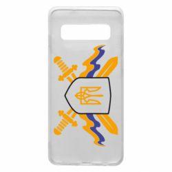 Чехол для Samsung S10 Герб та мечи