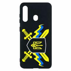 Чехол для Samsung M40 Герб та мечи