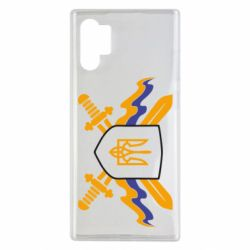 Чехол для Samsung Note 10 Plus Герб та мечи
