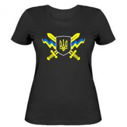 Женская футболка Герб та мечи - FatLine