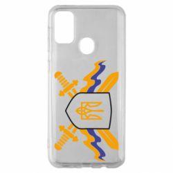 Чехол для Samsung M30s Герб та мечи