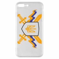 Чехол для iPhone 8 Plus Герб та мечи