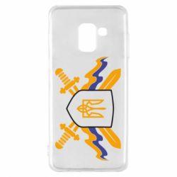 Чехол для Samsung A8 2018 Герб та мечи
