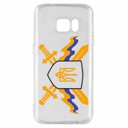 Чехол для Samsung S7 Герб та мечи