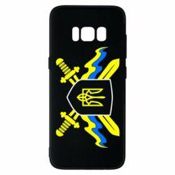 Чехол для Samsung S8 Герб та мечи