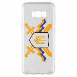 Чехол для Samsung S8+ Герб та мечи