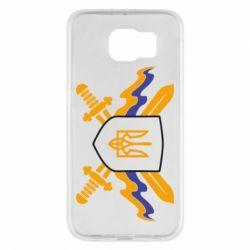 Чехол для Samsung S6 Герб та мечи