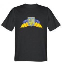 Чоловіча футболка Герб та прапор