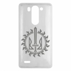 Чехол для LG G3 mini/G3s Герб у сонці - FatLine