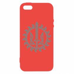 Чехол для iPhone5/5S/SE Герб у сонці - FatLine