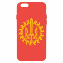 Чехол для iPhone 6/6S Герб у сонці - FatLine