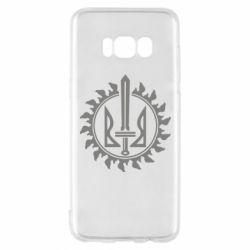 Чехол для Samsung S8 Герб у сонці - FatLine