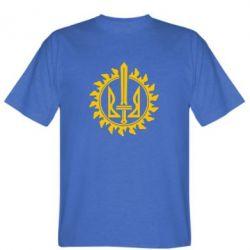 Мужская футболка Герб Правого Сектору у сонці - FatLine