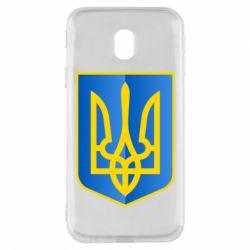 Чехол для Samsung J3 2017 Герб України 3D