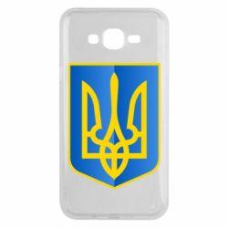 Чехол для Samsung J7 2015 Герб України 3D