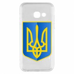 Чехол для Samsung A3 2017 Герб України 3D