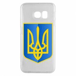 Чехол для Samsung S6 EDGE Герб України 3D