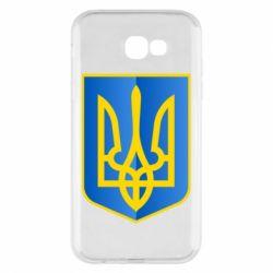 Чехол для Samsung A7 2017 Герб України 3D